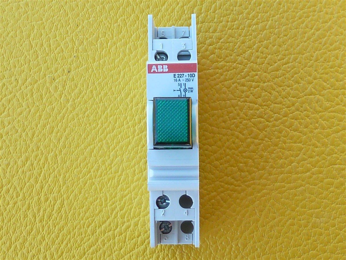 ABB-E227-10D-Taster-gruen-16A-1xS-Leuchttaster-GHE2271001R0003-ean-40122330055