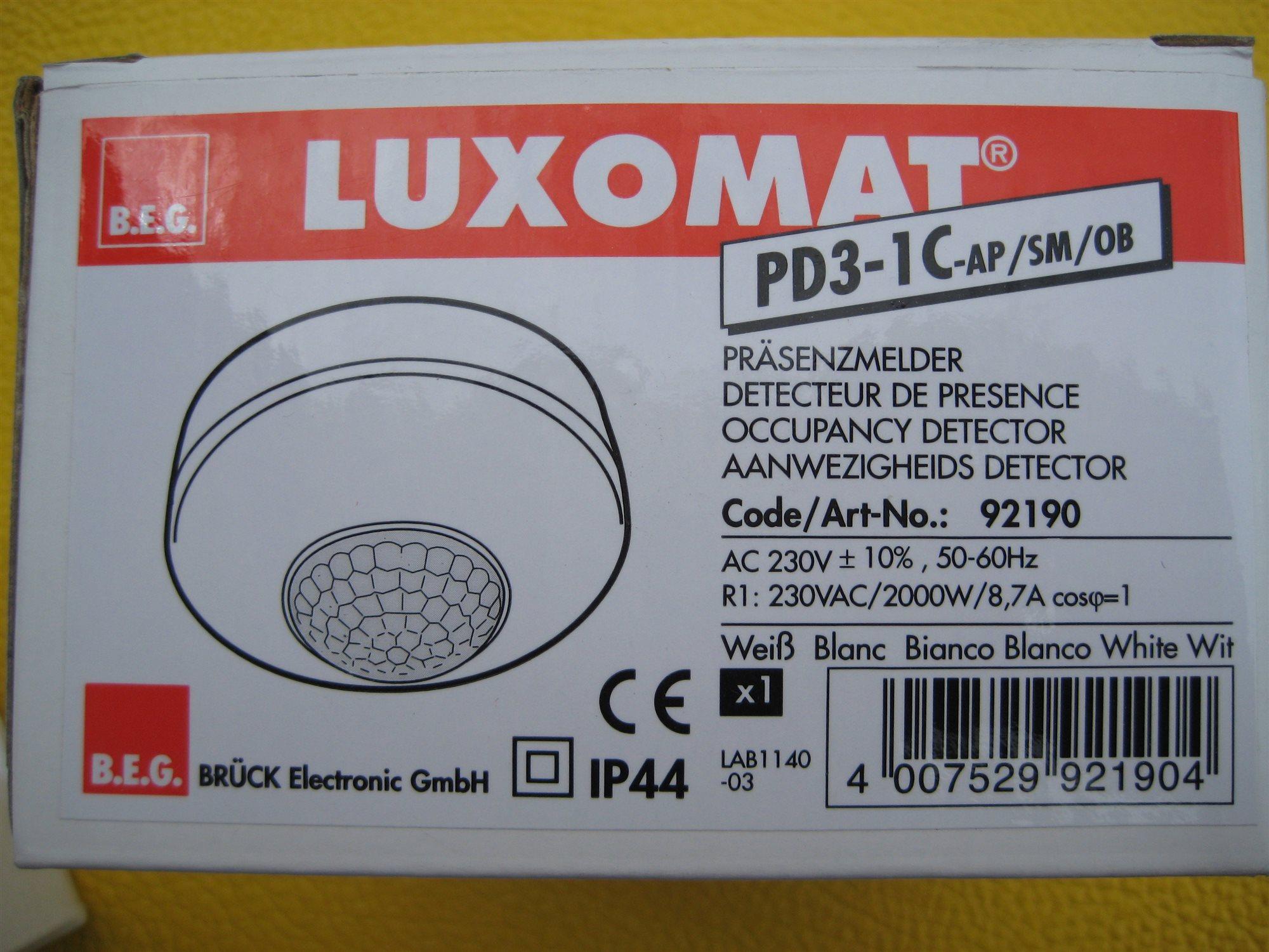 Luxomat pd3 1c