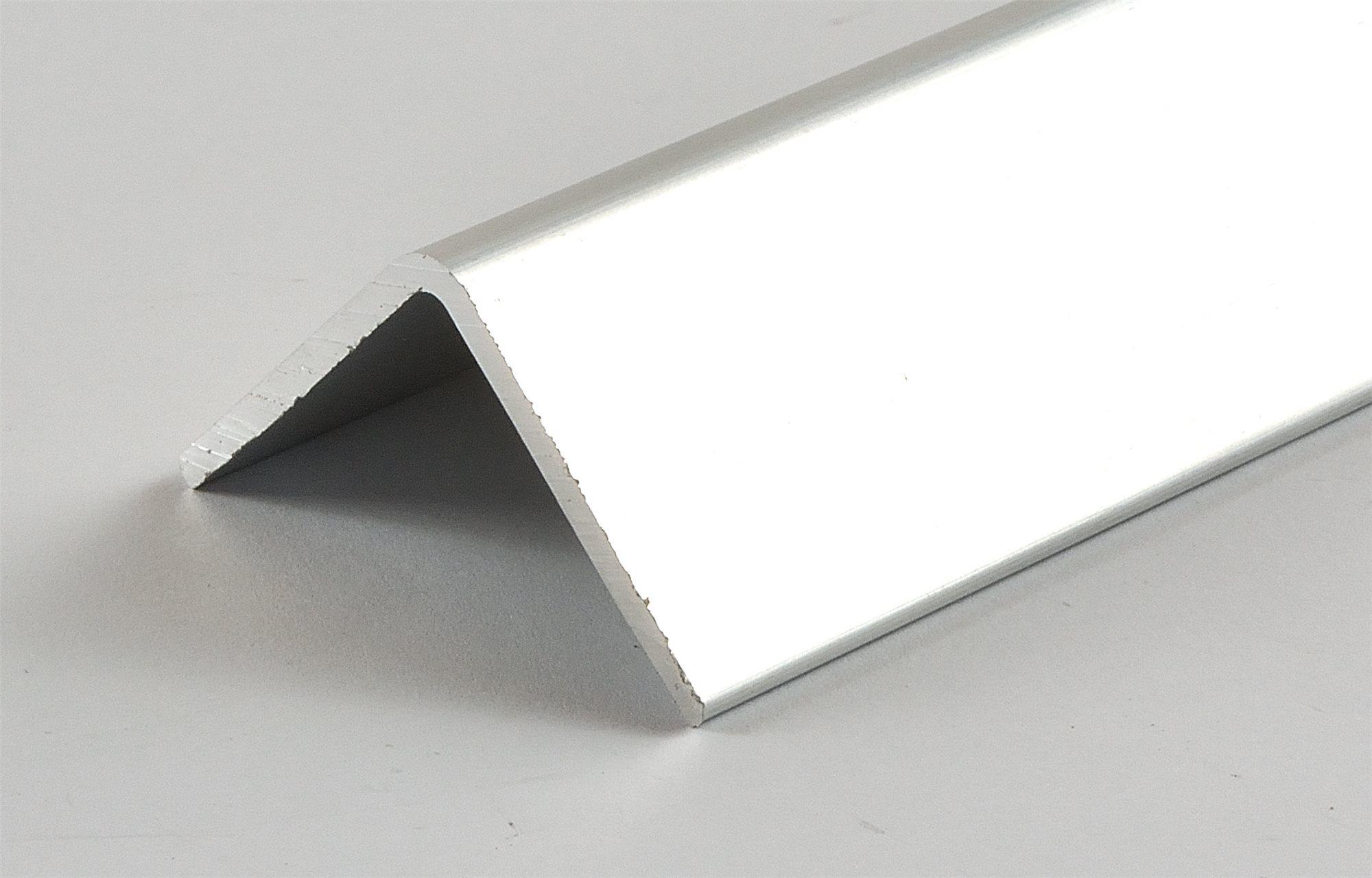alu kantenschutz 30x30x2 glatt radius 5mm aluminium winkelprofil ebay. Black Bedroom Furniture Sets. Home Design Ideas