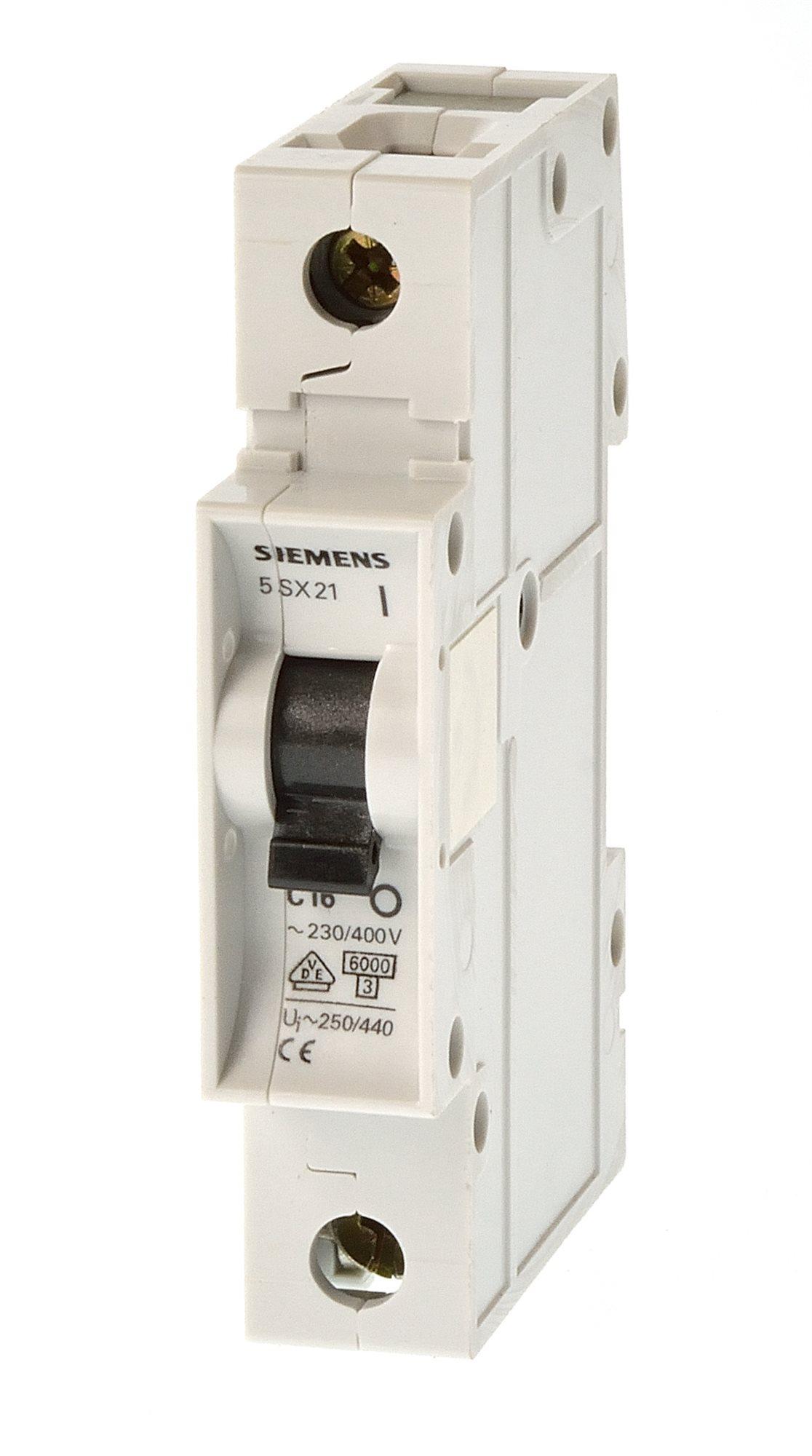 Siemens 5SX2206-6 B6 Sicherungsautomat 2 polig