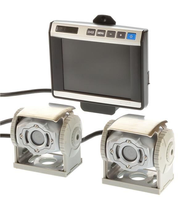waeco set 2x cam60 adr farbkamera monitor m5l ebay. Black Bedroom Furniture Sets. Home Design Ideas